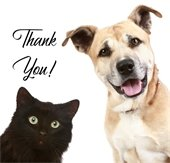 Thank you for supporting the animals