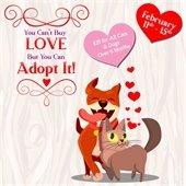 February Adoption promotion