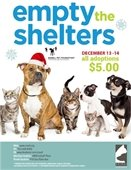 Empty the Shelters Adoption Promotion