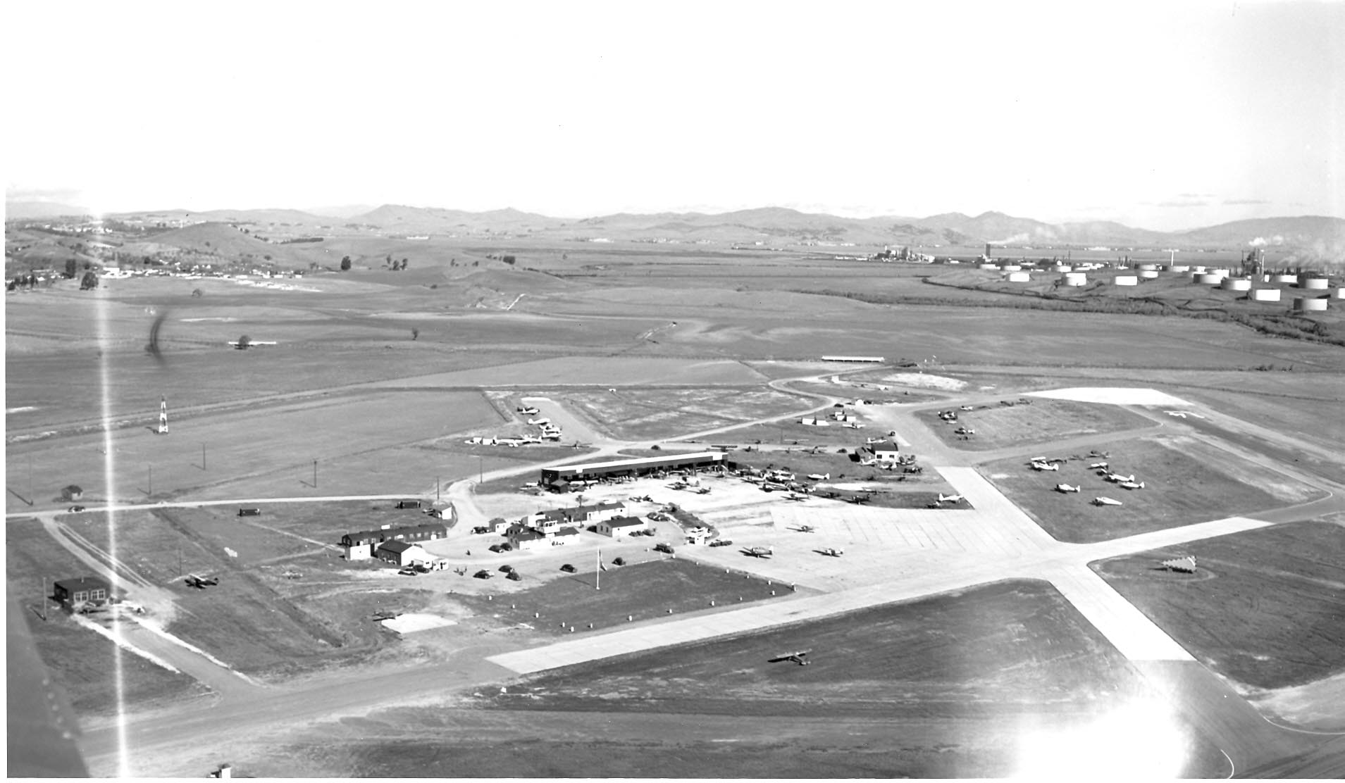 Buchanan Field Circa 1946