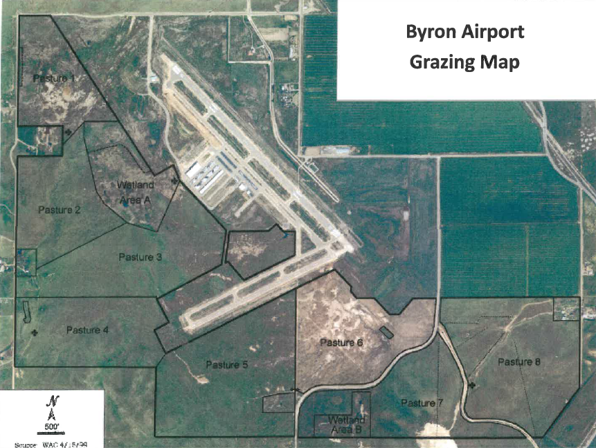Byron HML Grazing Map