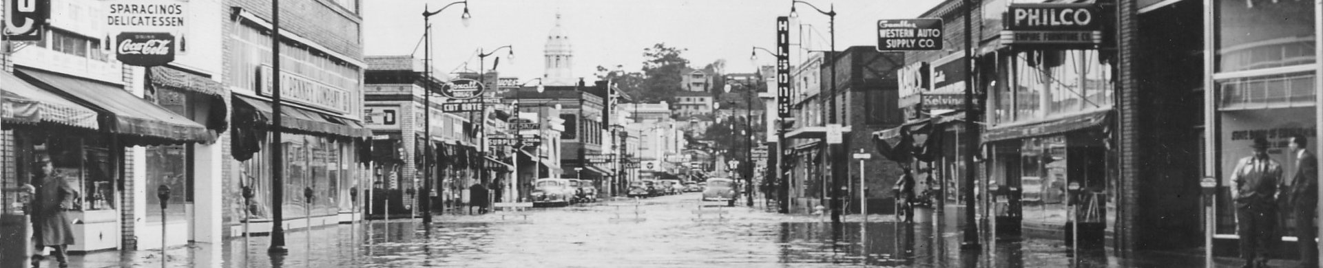 Alhambra Creek Flooding 1950-19512