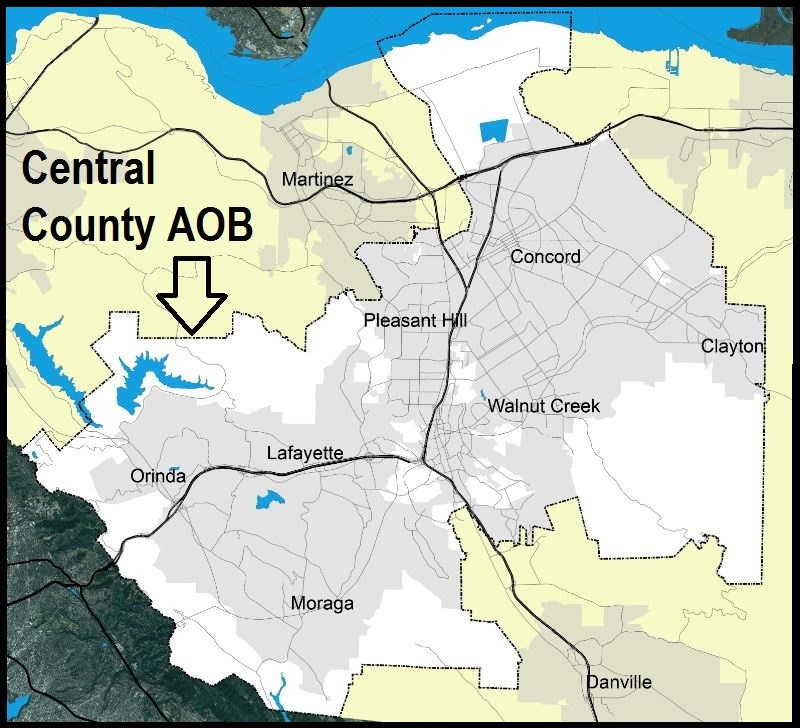 Central County Boundary Map
