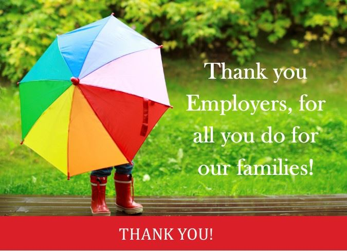 employer thank you
