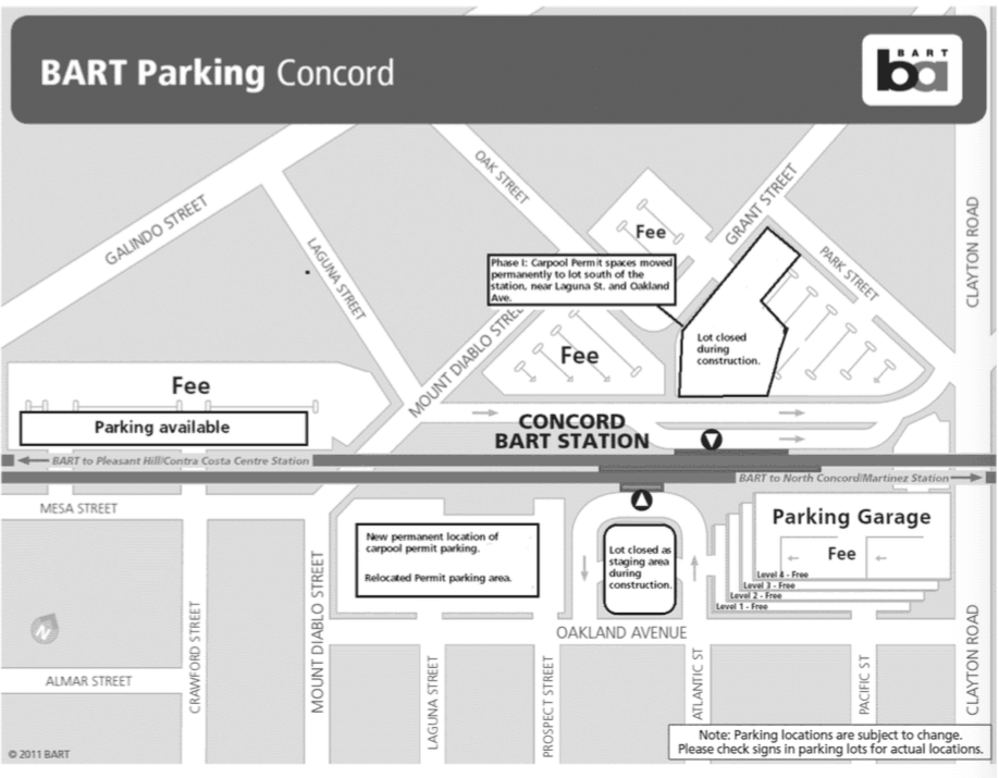 Concord BART parking Apr2017