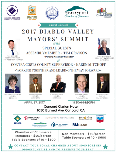 2017 Diablo Mayors Summit