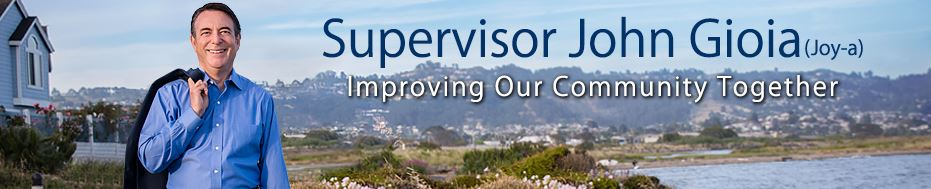 Supervisor Gioia Website Banner