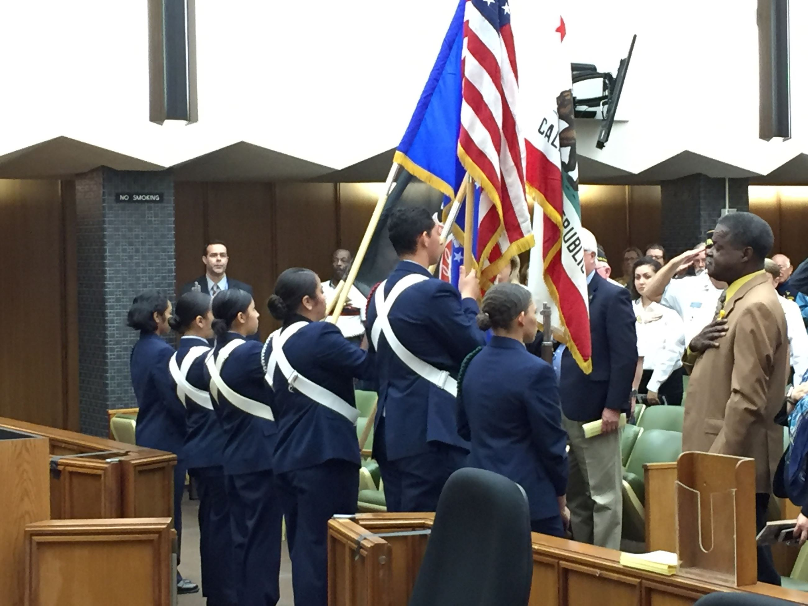 2017 Veterans Day Ceremony, Contra Costa County