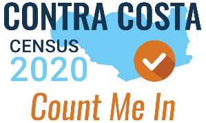 census-2020 logo for Contra Costa County - Count Me In