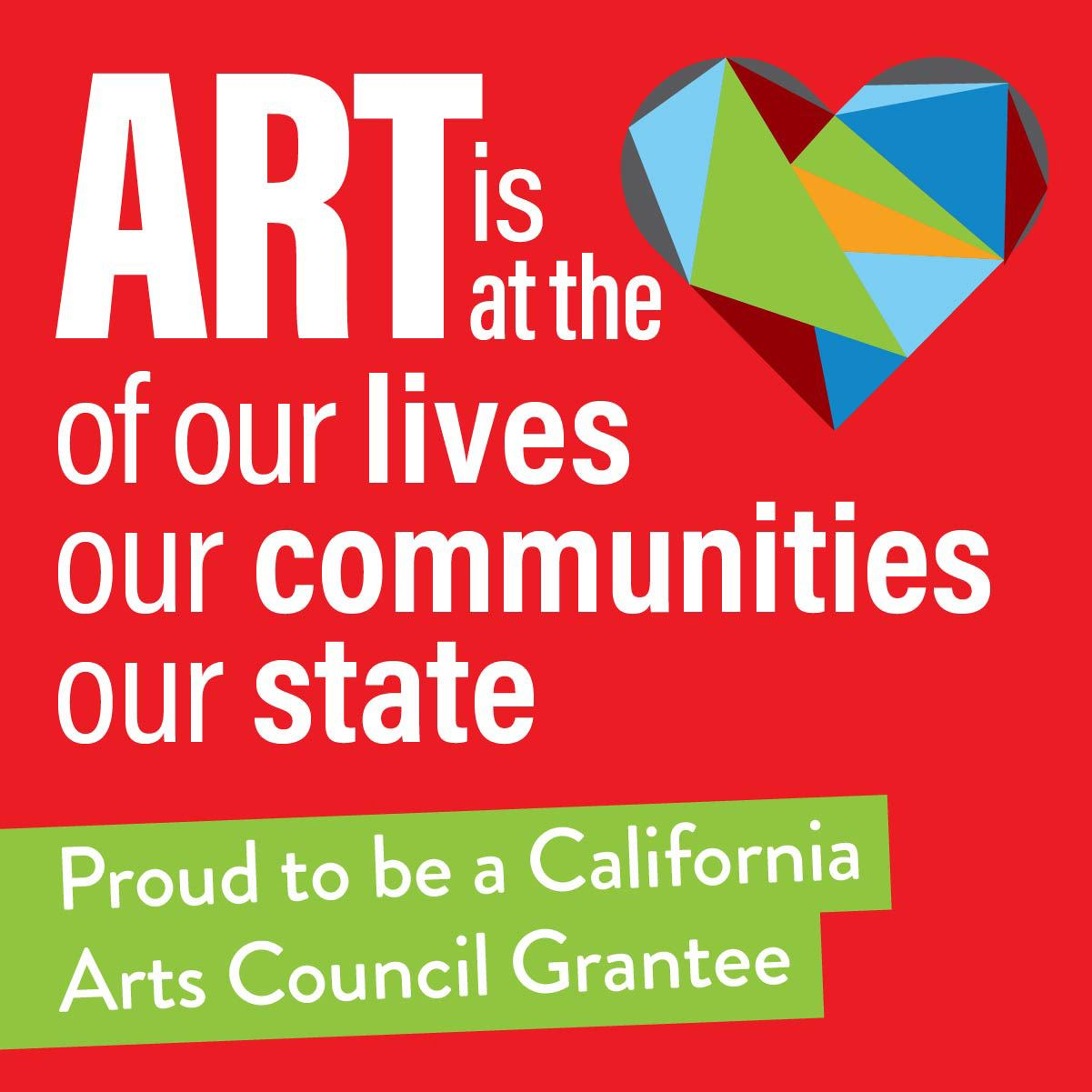 Picture of Heart with Art is Community