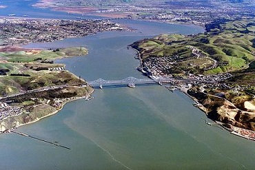 NW_Carquinez_Strait_aerial_view