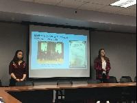 Alhambra High Students Presenting Idle Free Pledge findings