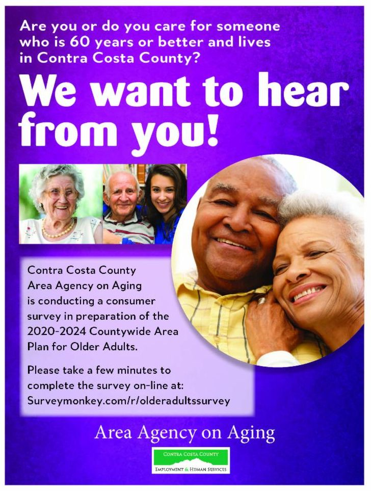 Area Agency on Aging Survey Flyer