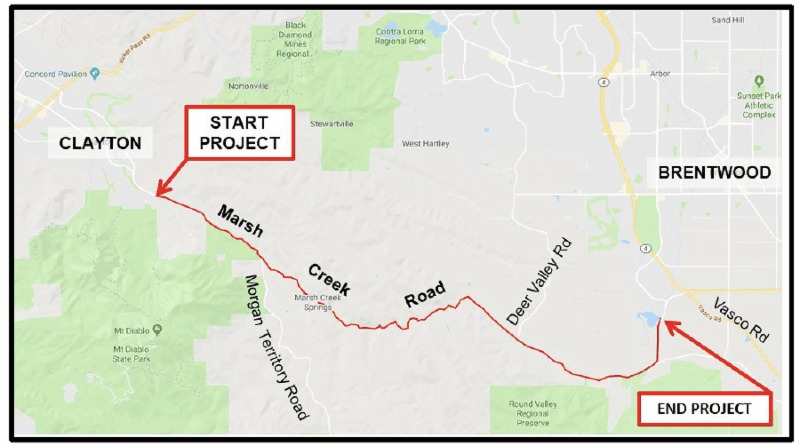 Marsh Creek Rd. Improvement Project