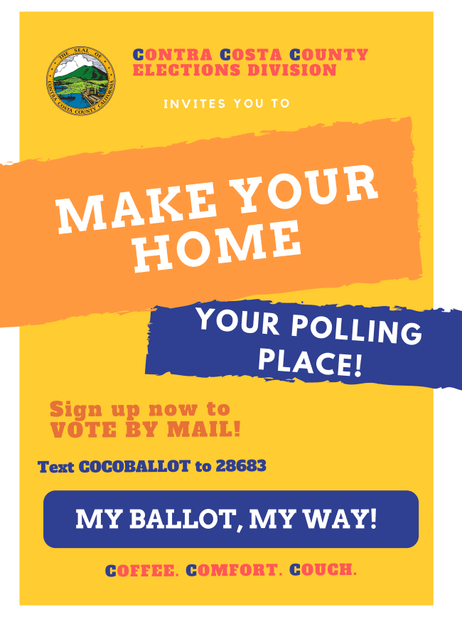 Contra costa county elections flyer