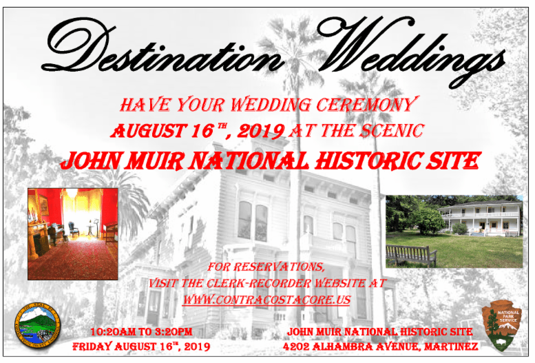 8-16-19 John Muir Destination Wedding Flyer