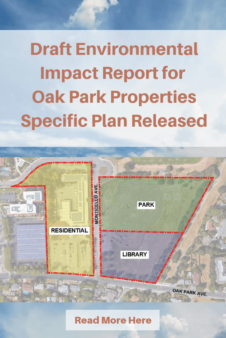 Draft Environmental Impact Report for Oak Park Properties Specific Plan Released (1) Opens in new window