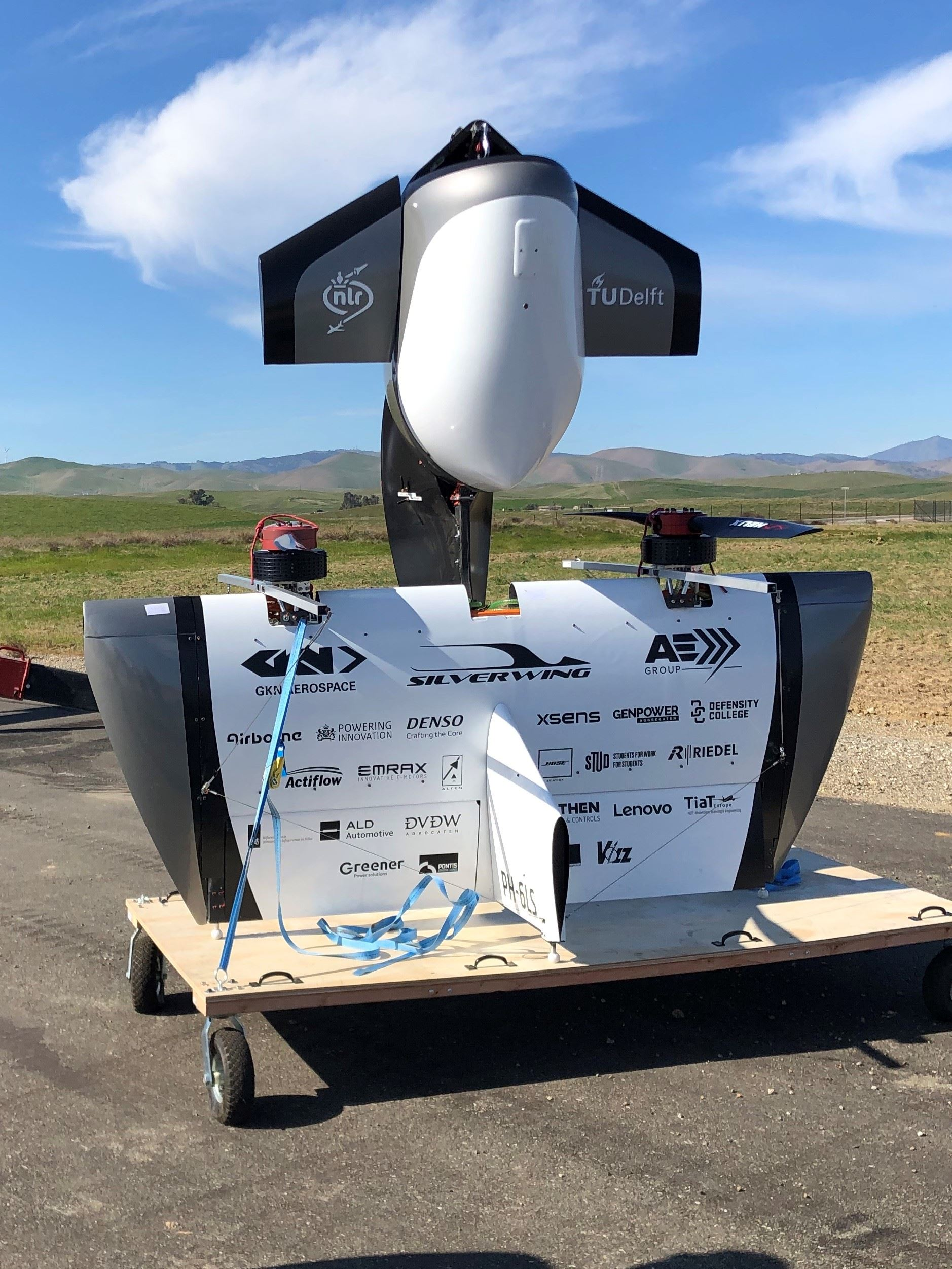 Silverwing UAS Test at Byron Airport