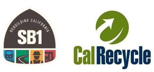 SB1 and CalRecycle Logo
