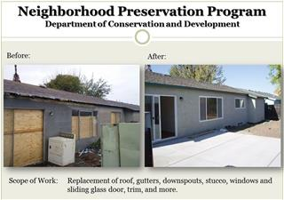 Exterior Improvements and Blight Removal