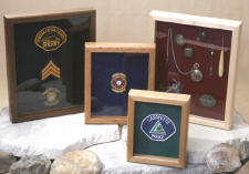 Click on photo to view a larger picture of the Wood Shadow Boxes