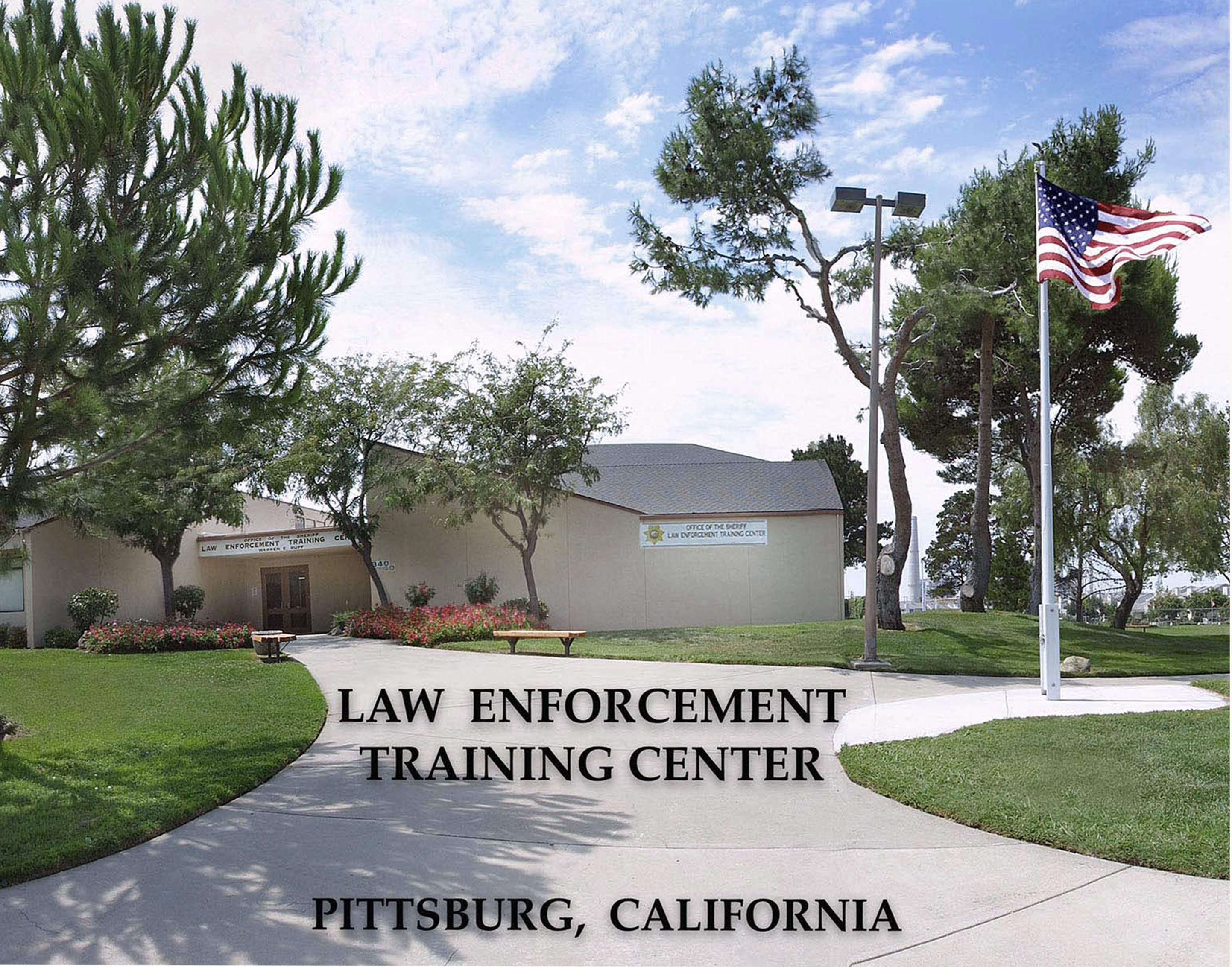 Picture of the front of the Law Enforcement Training Center