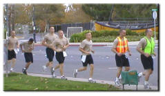 picture of cadet is a training run