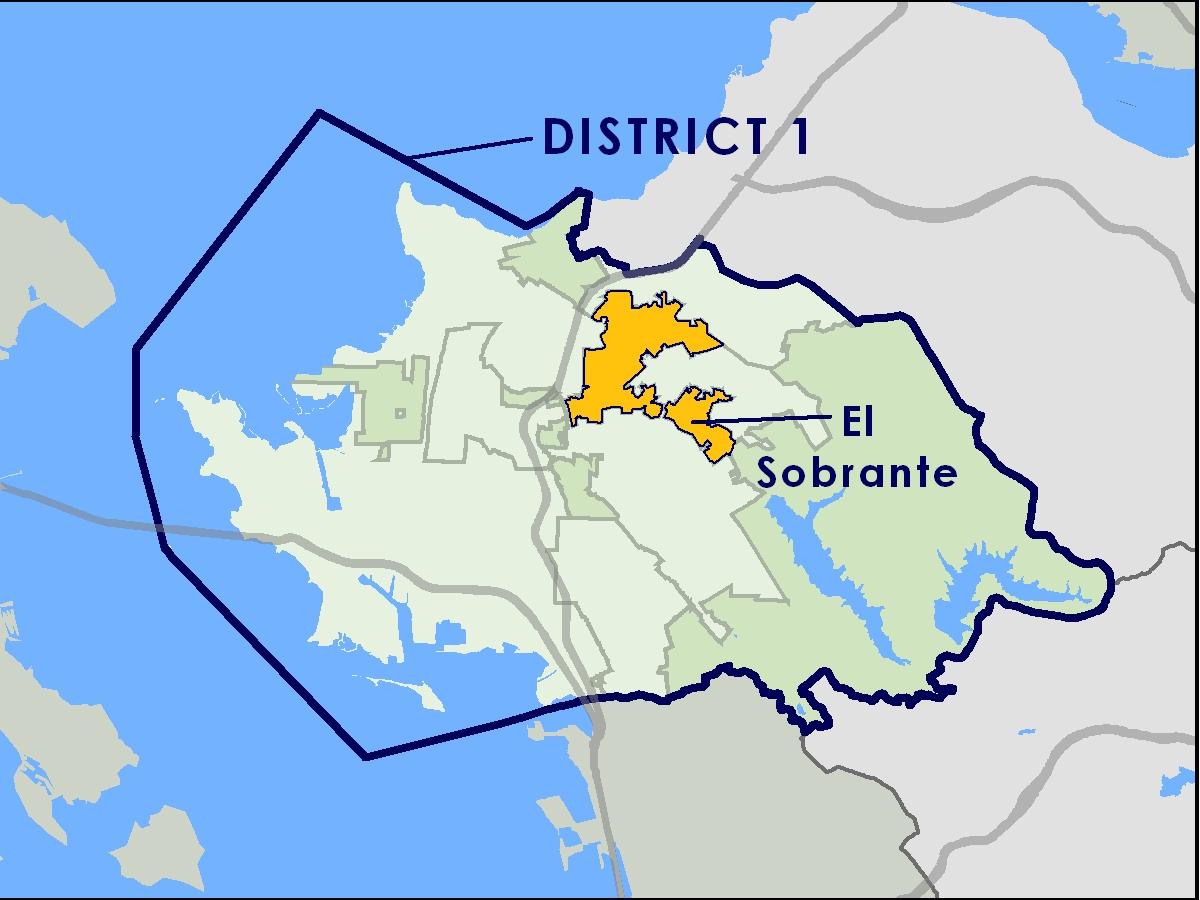 El Sobrante Contra Costa County CA Official Website - Map of contra costa county ca