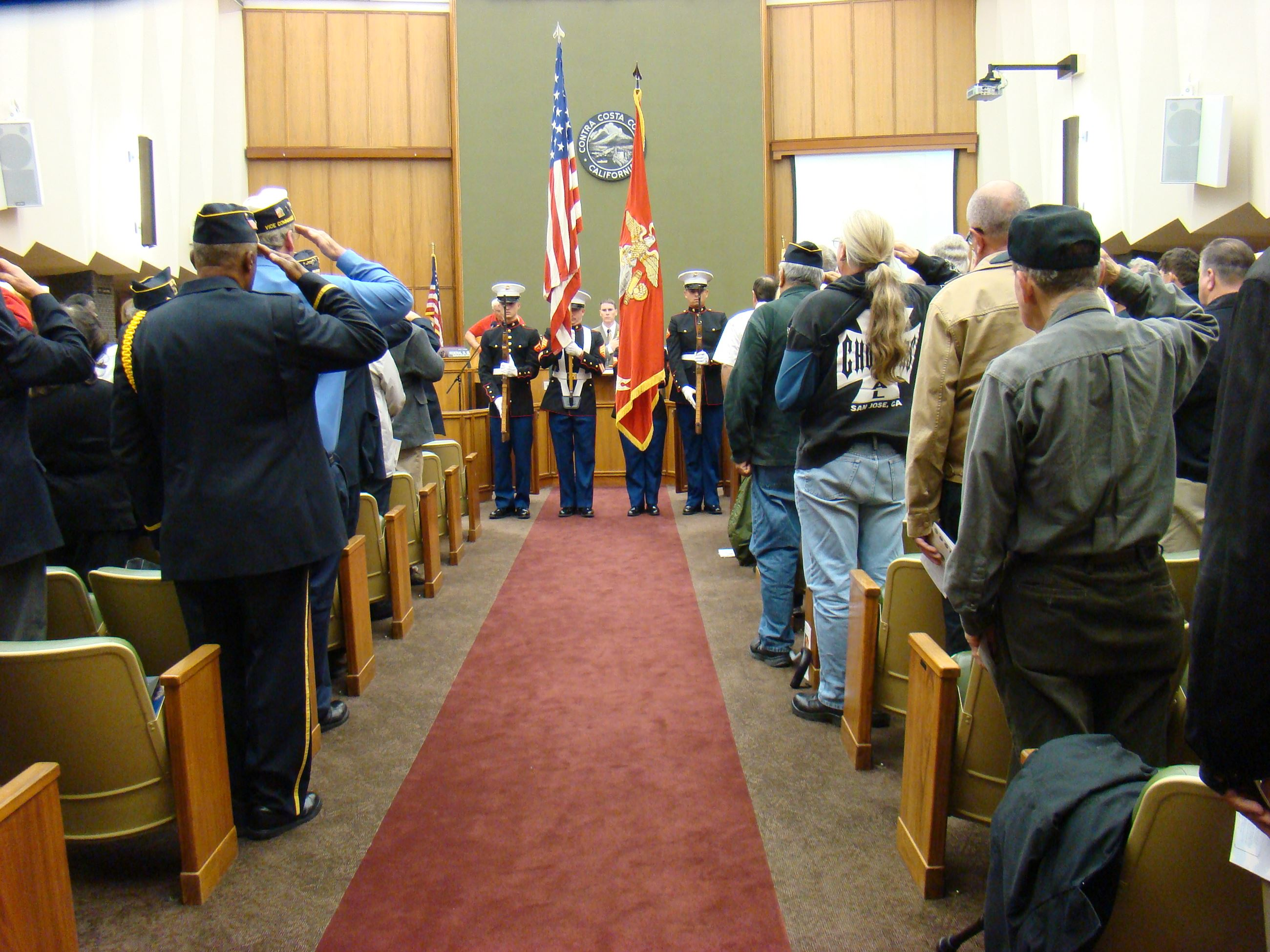 Veterans Day 2012 Ceremony