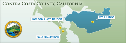 Contra Costa County - Area Map