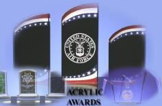 Click on photo of Acrylic Awards to view online catalog