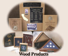 Click on photo to view Wood Products online catalog
