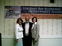 Supervisor Peipho with Sunne Wright and Bob Whitley